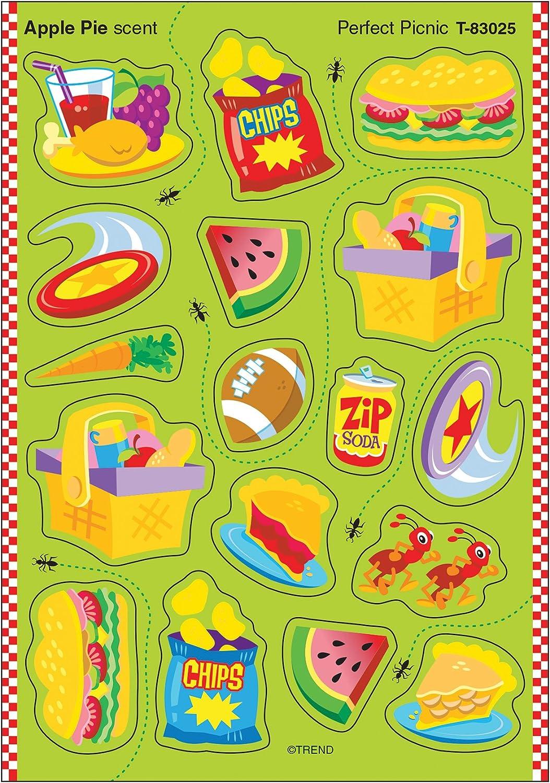 Trend Enterprises Perfect Picnic/Apple Pie Stinky Stickers (68 Piece)