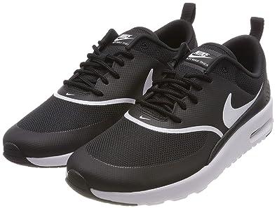 buy popular e2a74 c3c48 Nike Damen Air Max Thea Laufschuhe, Schwarz (Black White 028), 37.5