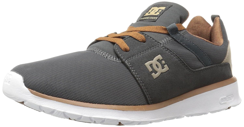 DC Men's Heathrow Casual Skate Shoe B01D24C6JI 6 D(M) US|Charcoal Grey