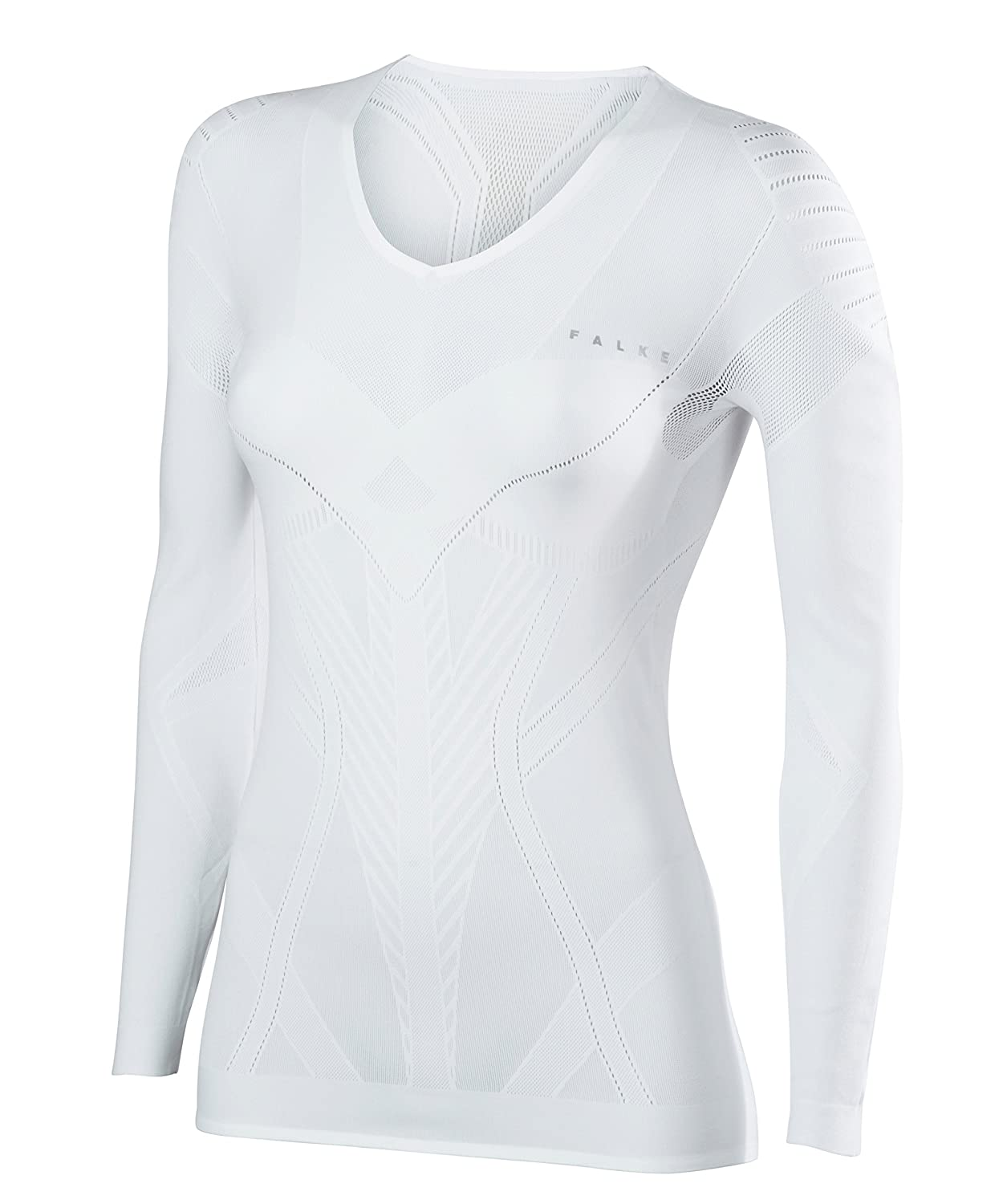 Falke Women's Cool Long Sleeved Tight Fit Sports Underwear Shirt FALAH|#FALKE 33050
