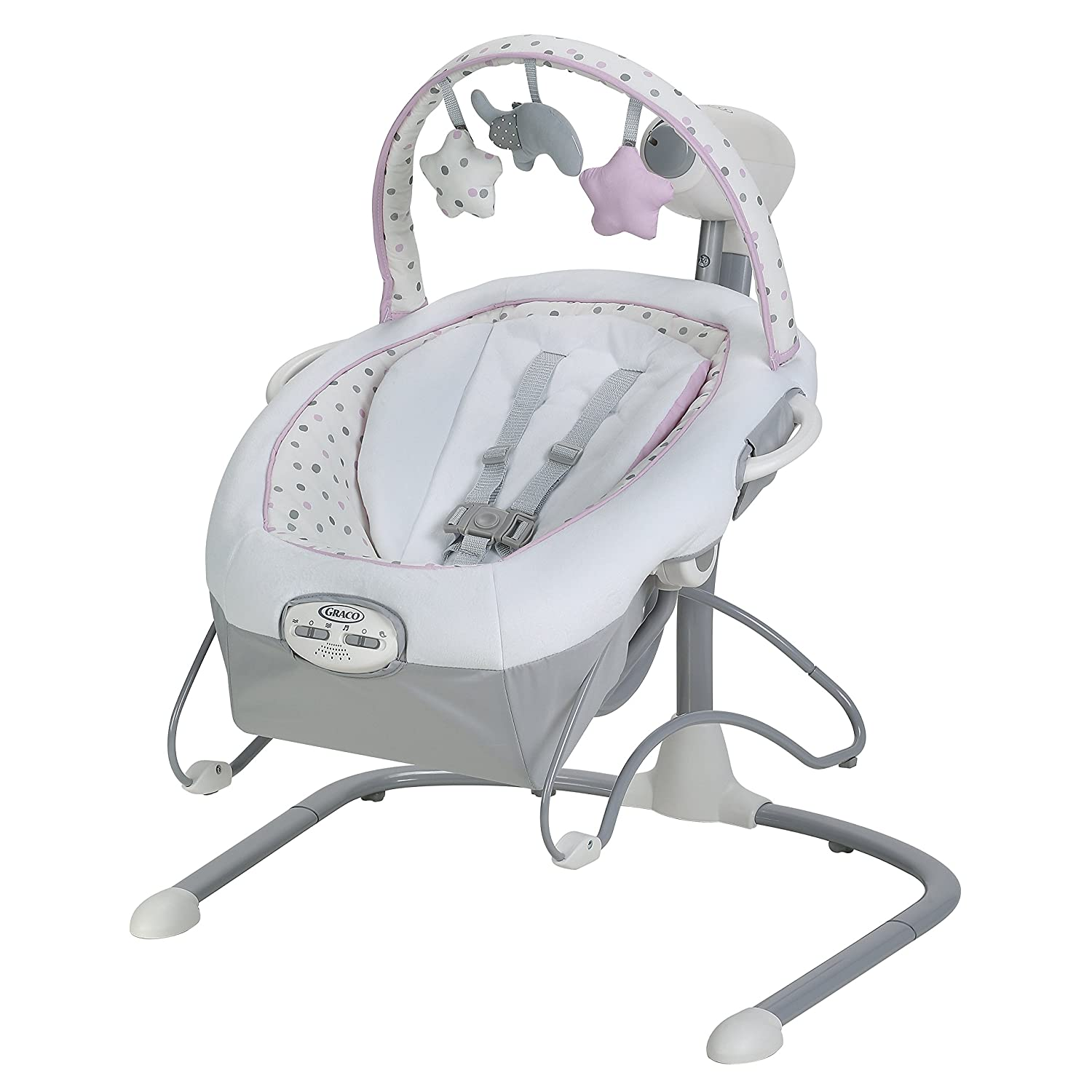 10. Graco Duet Sway LX Swing: Best baby swing and bouncer combo