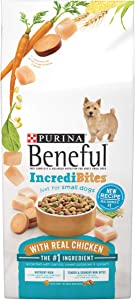 Purina Beneful IncrediBites Dry Dog Food, For Small Dogs, With Real Chicken, 3.5 Lb Bag