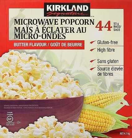 Super remise Royaume-Uni disponibilité faire les courses pour Kirkland Signature Microwave Popcorn, 3.3 oz, 44 Count