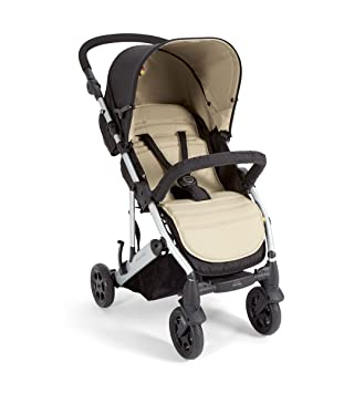 Mamas & Papas Luna 4 Wheel Stroller, Stone: Amazon.ca: Baby