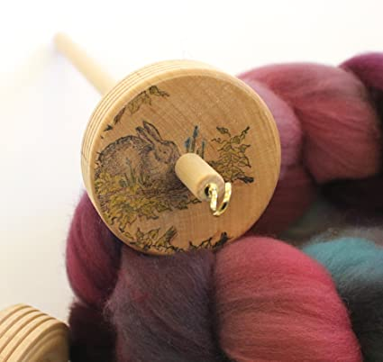 Sheep Drop Spindle Handmade Spinning Spindle for Spinning Yarn