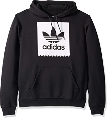 originale varietà di stili del 2019 vendite speciali Amazon.com: adidas Originals Men's Skate Solid Blackbird Hooded ...