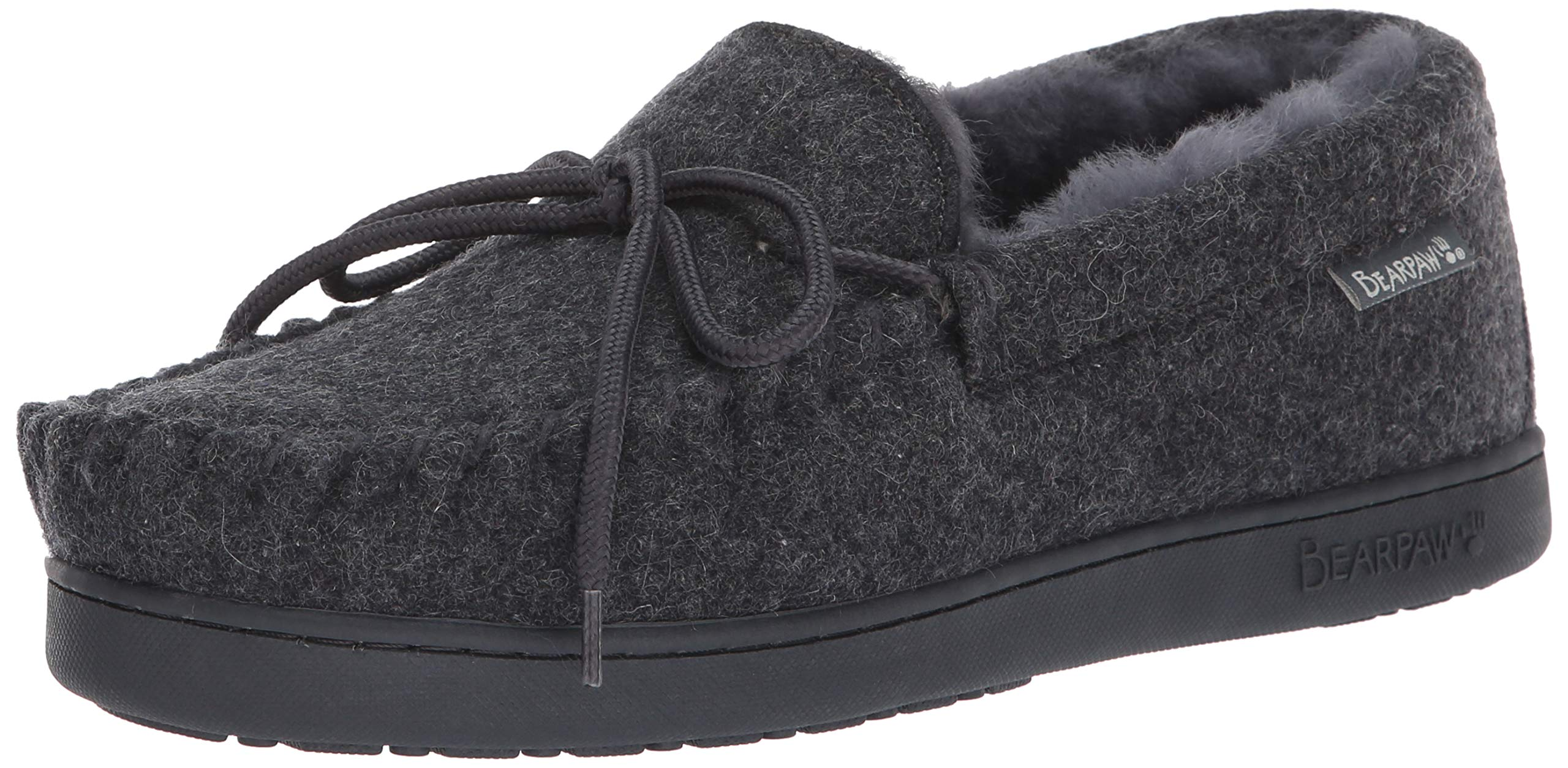 BEARPAW - Mens Moc Ii Solids Slippers, Size: 14 D(M) US, Color: Gray Ii