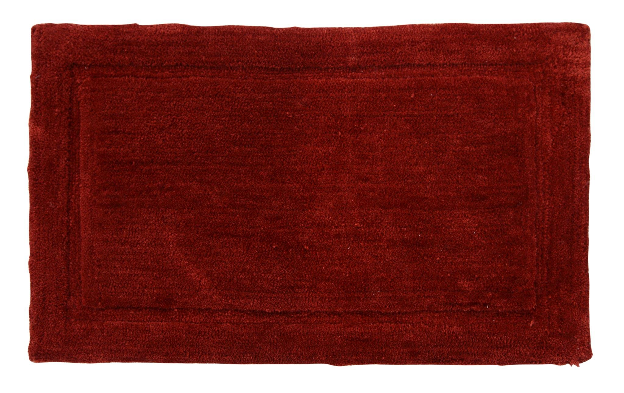 WARISI - Track Collection - Solids microfiber Bathroom, Bedroom Rug, 34 x 21 inches (Marsala) by WARISI (Image #6)