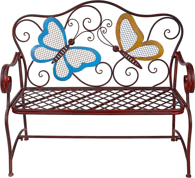 Alpine Corporation BVK546 Butterfly Bench