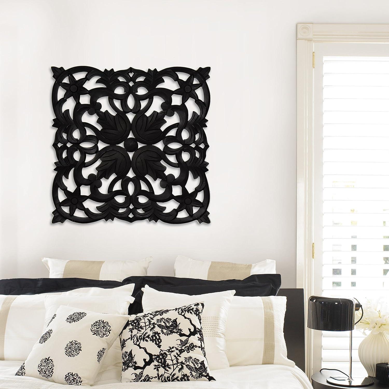 Amazon.de: Fetco Home Décor Medaillon Vaughn Art Wand, 76, 2 x 76, 2 ...