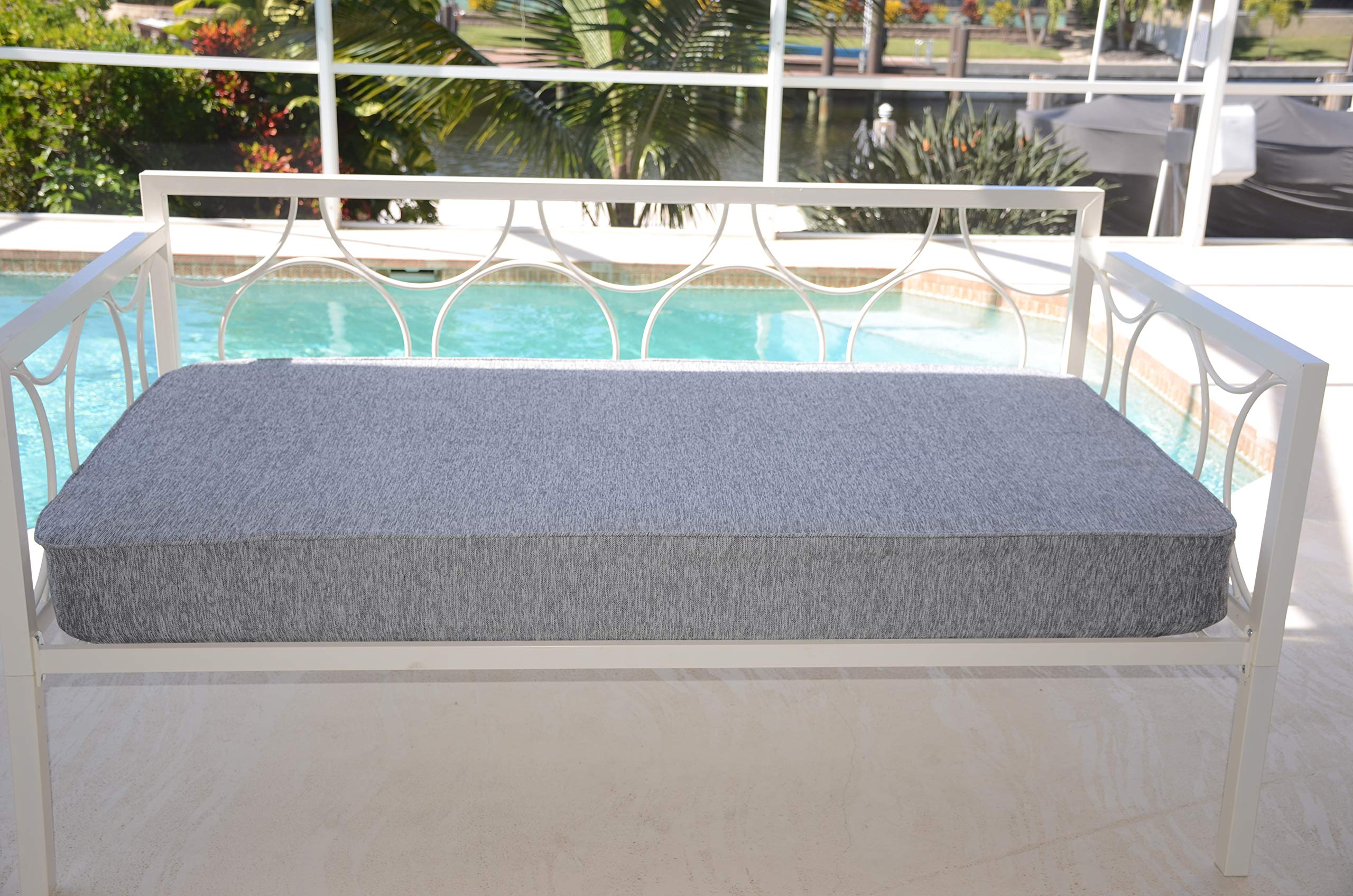 micama Daybed Matching Fitted Full Size Cover. Platinum Grey.