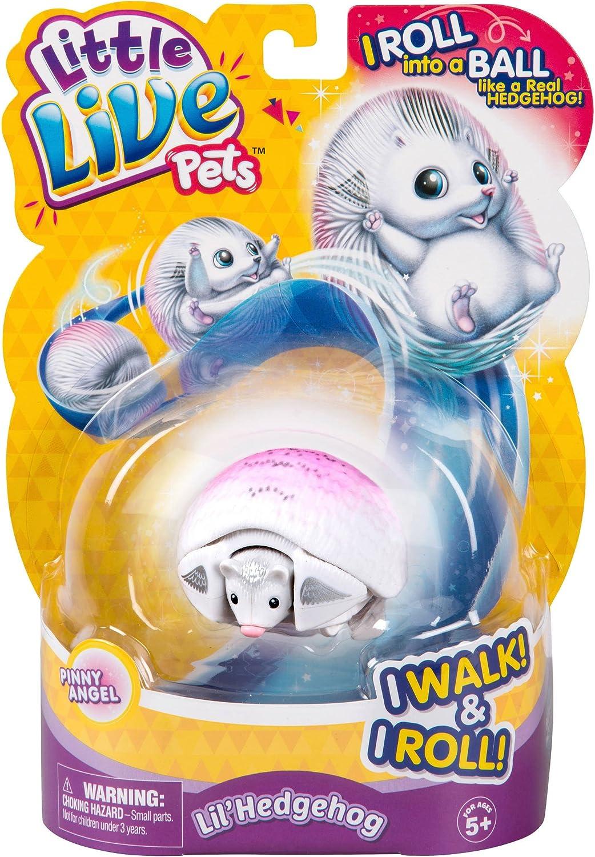 Little Live Pets/Famosa 700013663 Jouet h/érisson Rond Blanc
