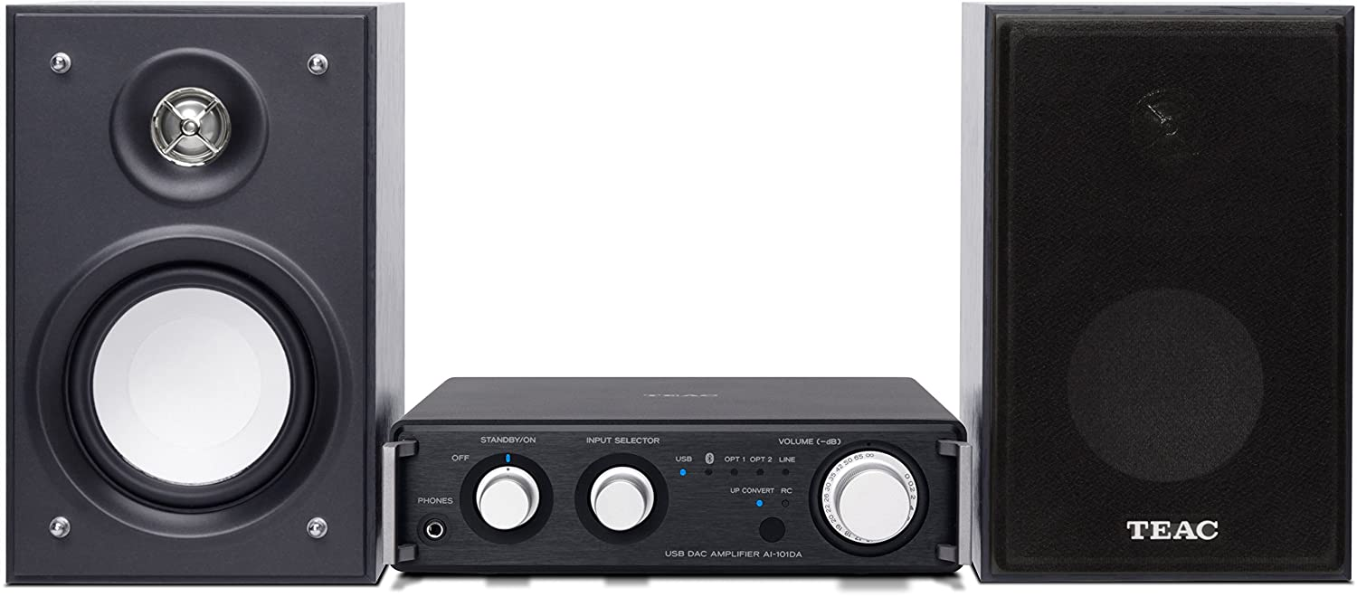 Teac HR-S101 - Microcadena de 52 W (2.1, Bluetooth, 3.5 mm), negro: Amazon.es: Electrónica