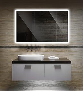 Super Amazon.de: Badezimmerspiegel mit Beleuchtung LED Spiegel - 65x50 ZX27