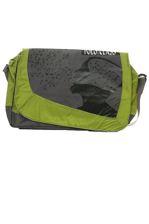 30821f04d34b Polo Class Women s Messenger Bags Green (PC-10148)  Amazon.in  Bags ...