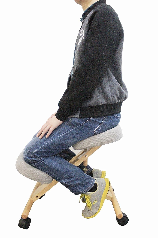 Ergonomische Pro11 Wellbeing Verstellbare Kniend Korrigieren Haltung Stuhl Stuhl Stuhl beige a4d144