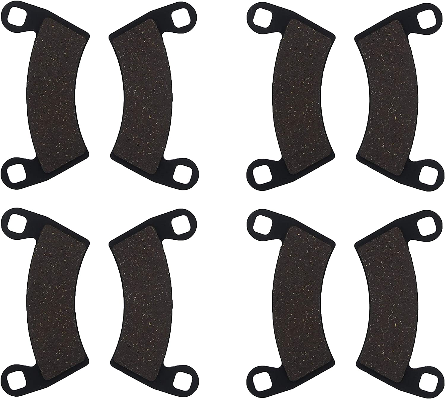 Front Rear Brake Pads For Polaris Ranger Razor RZR XP 900 Free Shipping Brakes