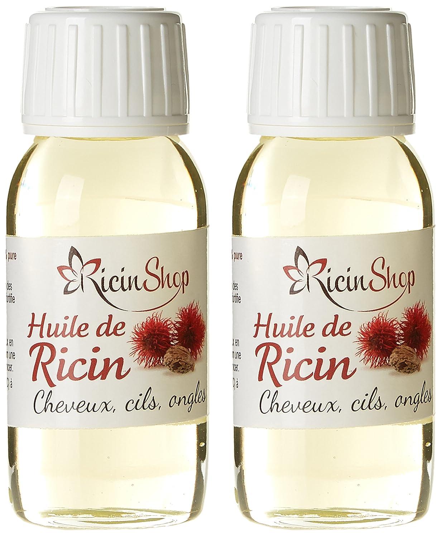 manelya aceite de ricino 60 ml - juego de 2: Amazon.es: Belleza