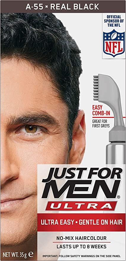 Just For Men AutoStop Foolproof Haircolour Black (A55)