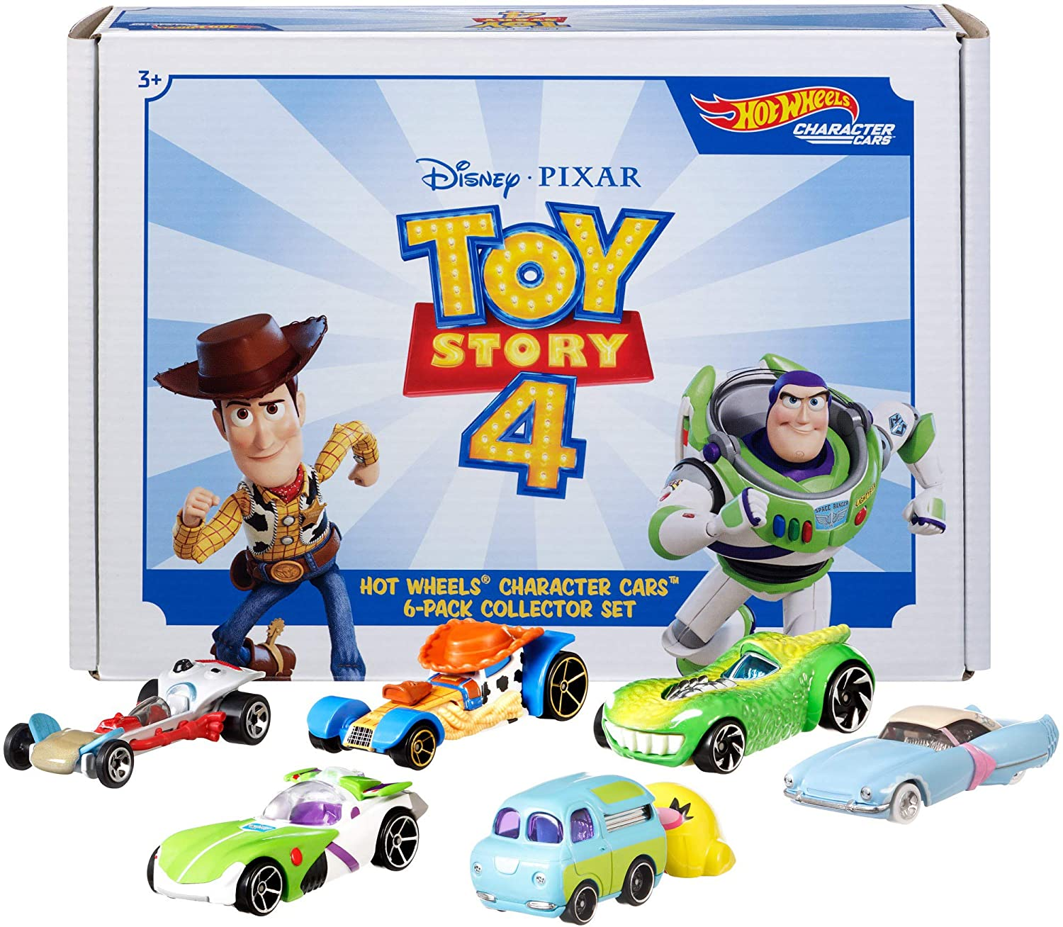 404810a11ecc0 Hot Wheels Toy Story 4 Bundle Vehicles, 6 Pack (Amazon Exclusive)