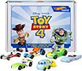 Hot Wheels Disney Pixar Toy Story 4 Character Cars 6 Pack Bundle [Amazon Exclusive]