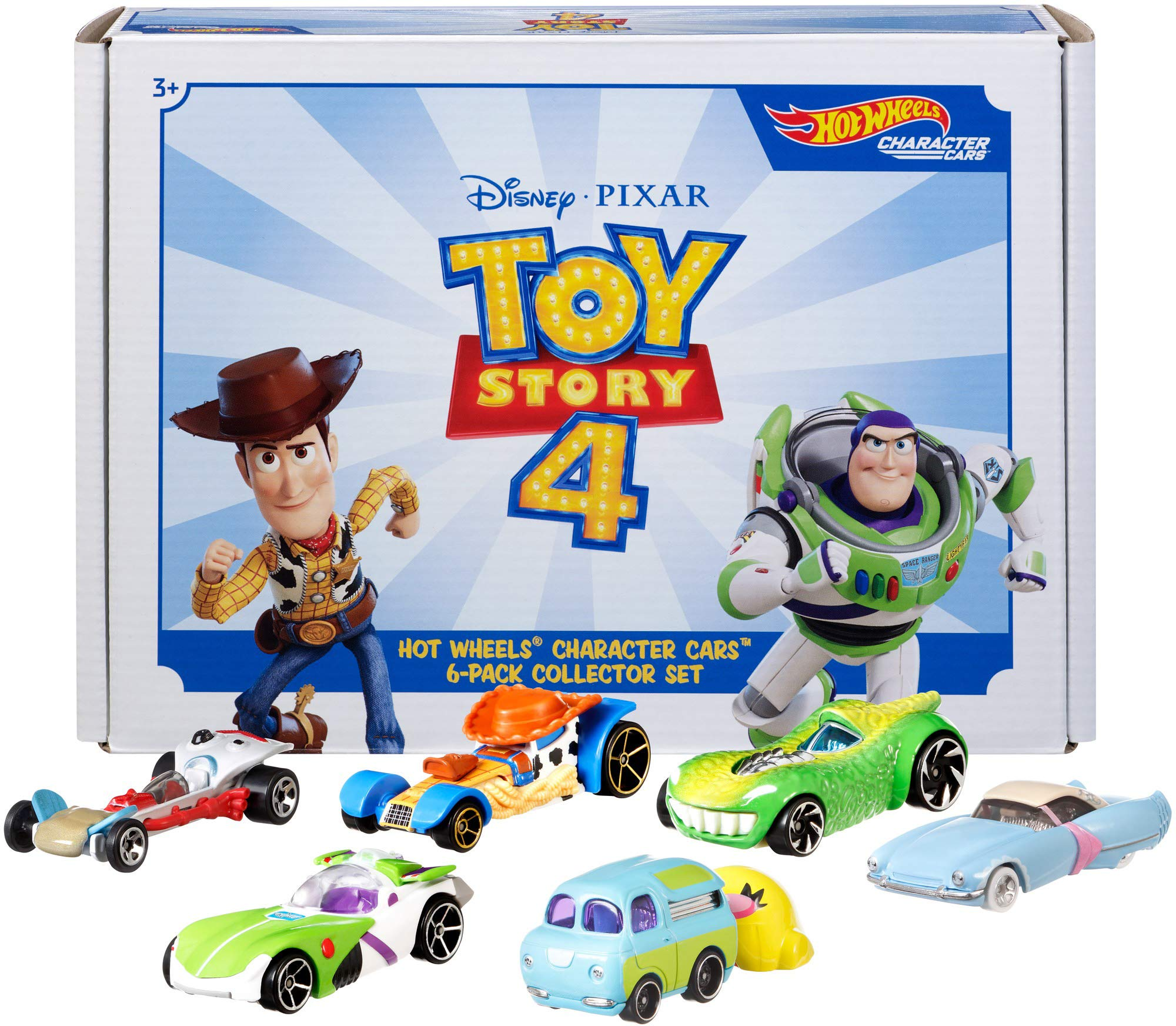 Hot Wheels Toy Story 4 Bundle Vehicles, 6 Pack (Amazon Exclusive) by Hot Wheels