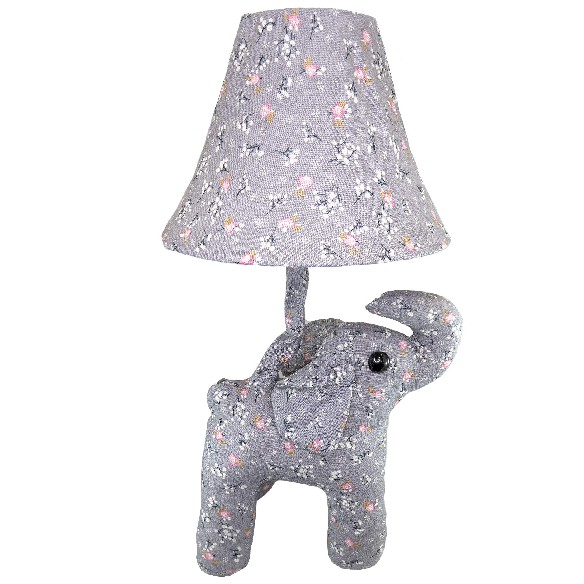 Fifth + Nest Kids Nursery Lamp - Plush Animal Table Top Lamps for Bedrooms - Cute Bedroom Decor for Baby, Toddler and Children's Room by Fifth + Nest