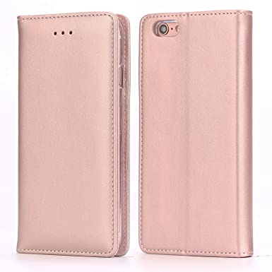 check out 3f773 6dfb8 iPhone 6S Leather Case, iPhone 6 Leather Case, IPHOX Premium Folio Leather  Wallet Case with [Kickstand] [Card Slots] [Magnetic Closure] Flip Notebook  ...