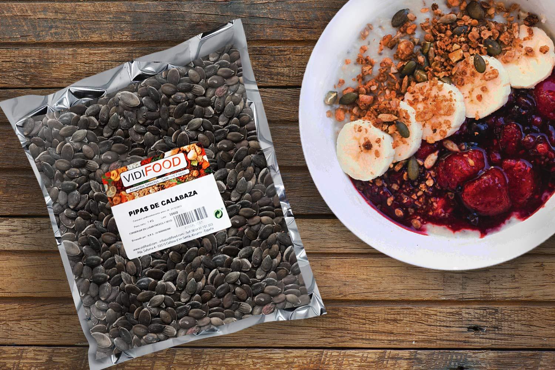 Semillas de Calabaza - 1kg - Snack Rápido Saludable - Pelado Crudo y Listo Para Comer: Amazon.es: Alimentación y bebidas