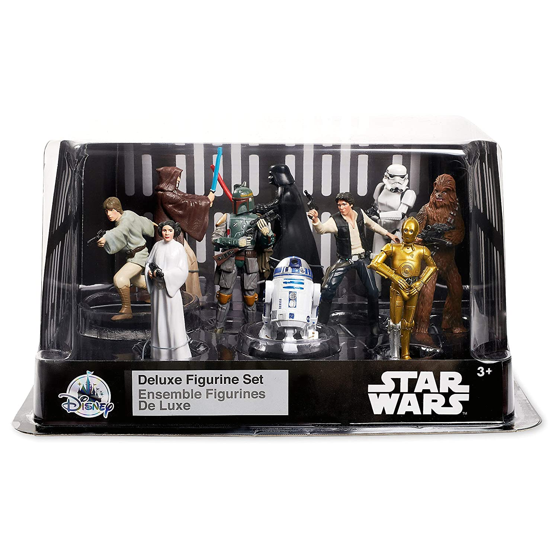 Star Wars Deluxe Figurine Set No Color461079188783 Disney