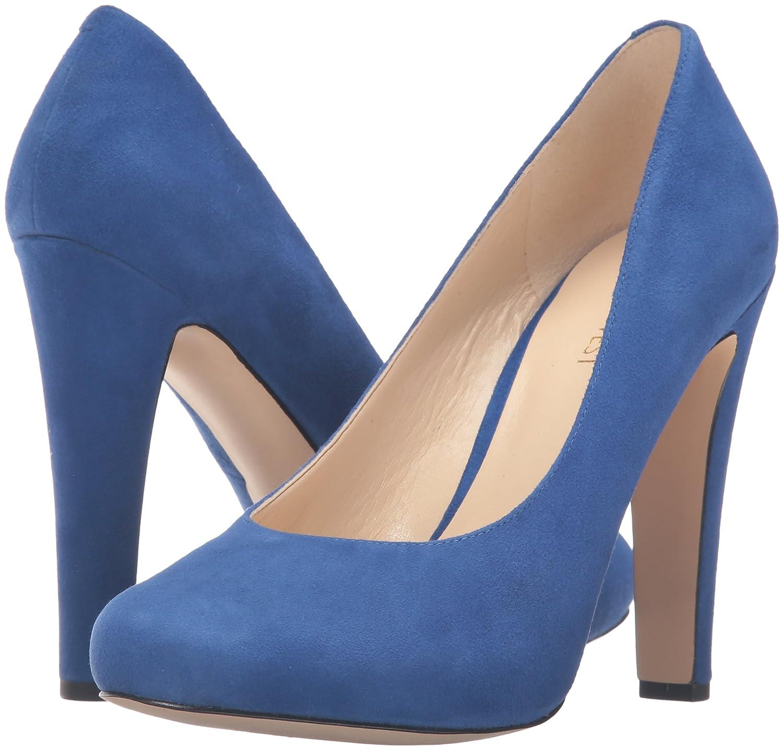e271c8cad Amazon.com | Nine West Women's Brielyn Platform Pump, Blue, 5 M US | Pumps