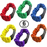 3 Legged Race Bands - 6 Pack - Race Bands - Carnival Games - Relay Race Games - Birthday Games by Funny Party Hats