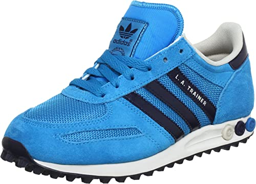 adidas Originals La Trainer W, Baskets mode femme Bleu