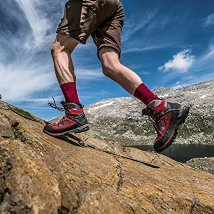 Amazon.com: 3 or 1 Pairs Merino Wool Hiking & Trekking Socks by DANISH ENDURANCE Men & Women: Sports & Outdoors