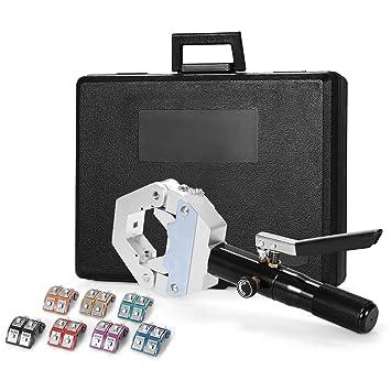 Bestauto A/C Hose Crimper Hydra-Krimp Hydraulic Hose Crimper 71500 A/C Hose  Crimping Tool Crimping Machine Kit (71500)