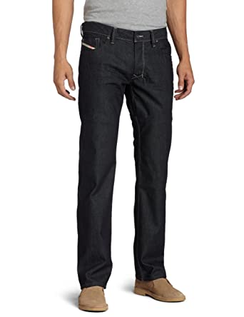 c6cb66bf Diesel Men's Larkee Regular Straight-Leg Jean 0088Z at Amazon Men's  Clothing store: