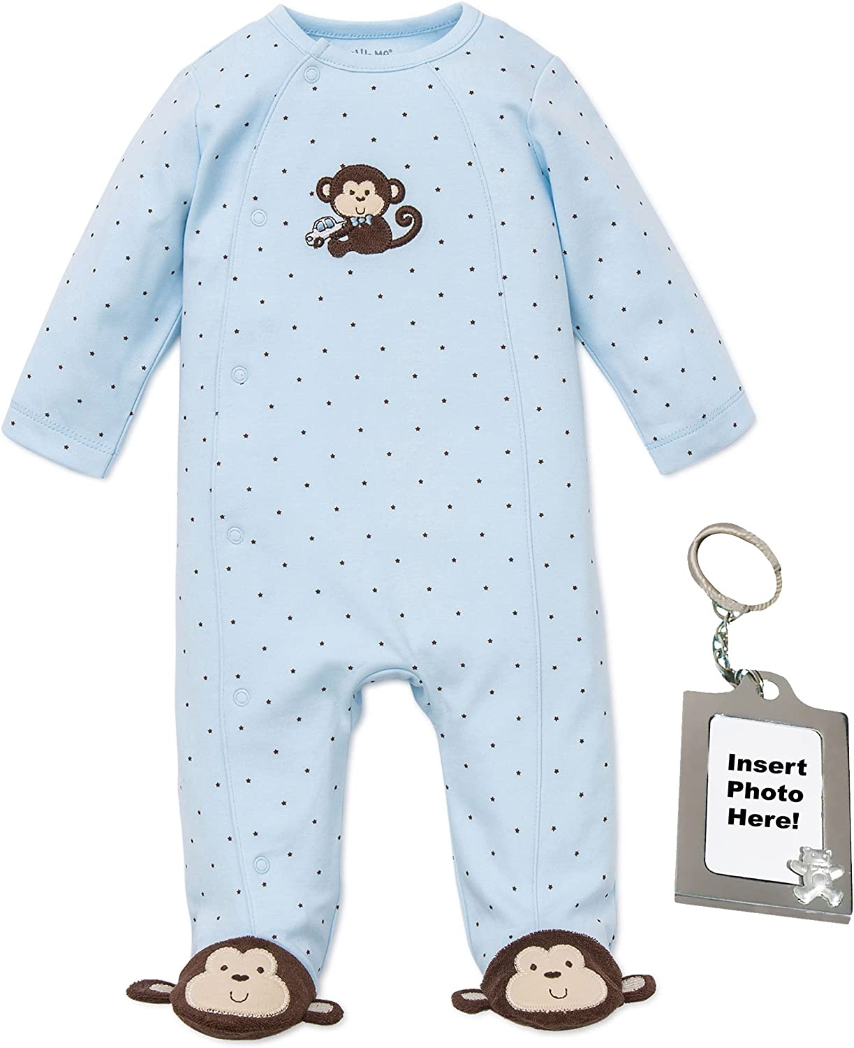 Baby Boys One-Piece Footies Animal Sleeper Pajamas Cotton Footed Sleep and Play with Cap
