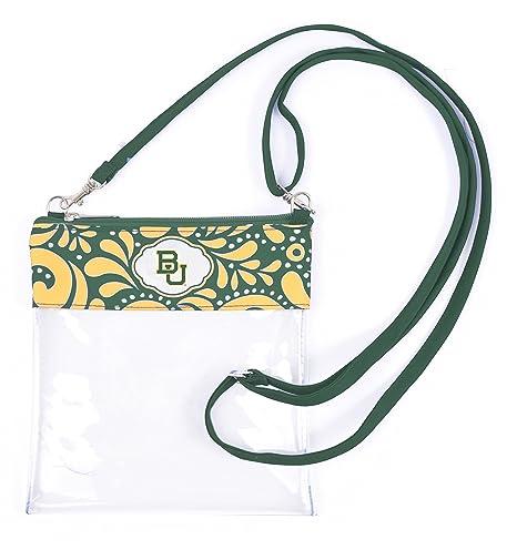 Amazon com : Desden Baylor Bears Clear Gameday Crossbody Bag