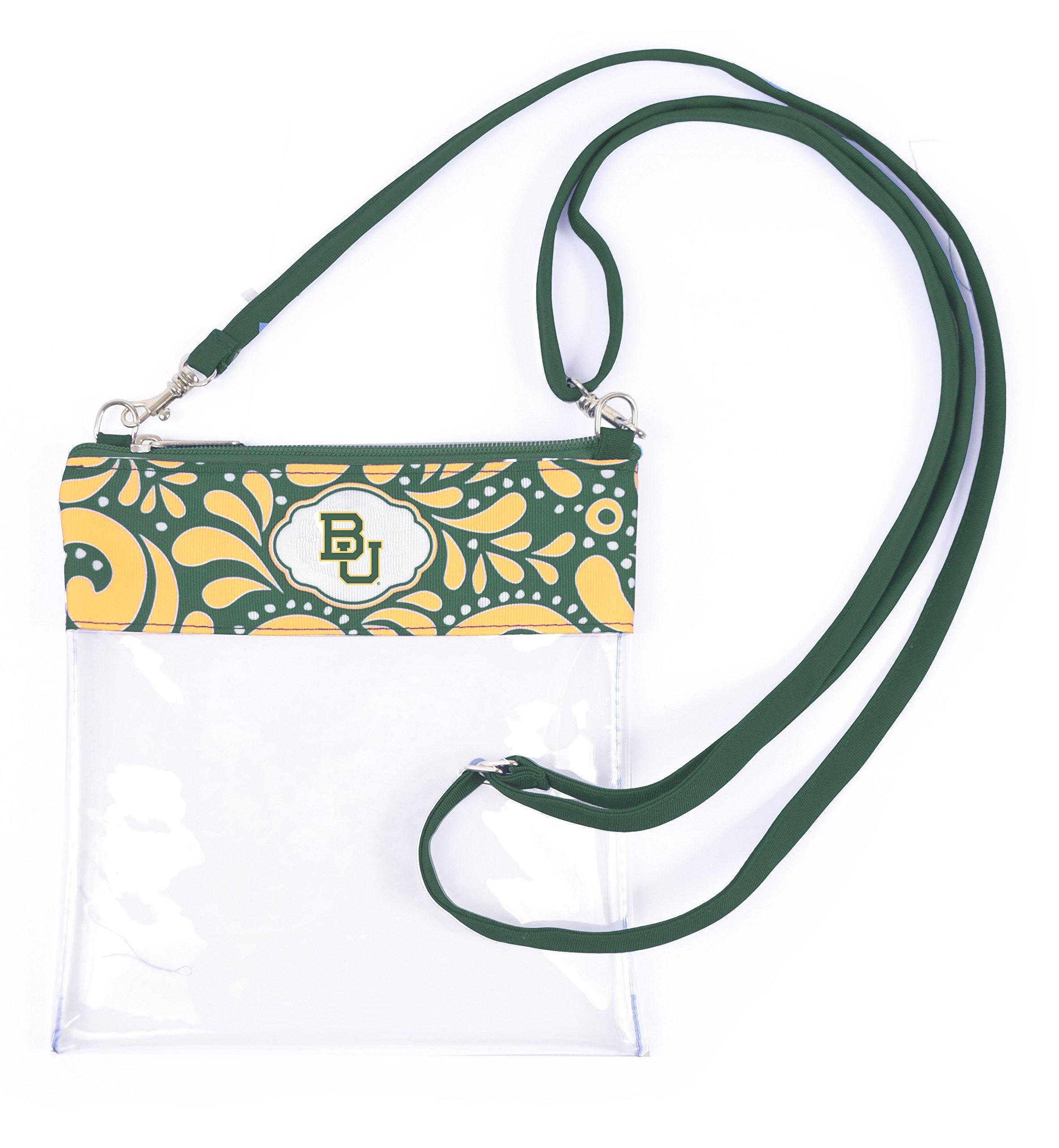 Desden Baylor Bears Clear Gameday Crossbody Bag