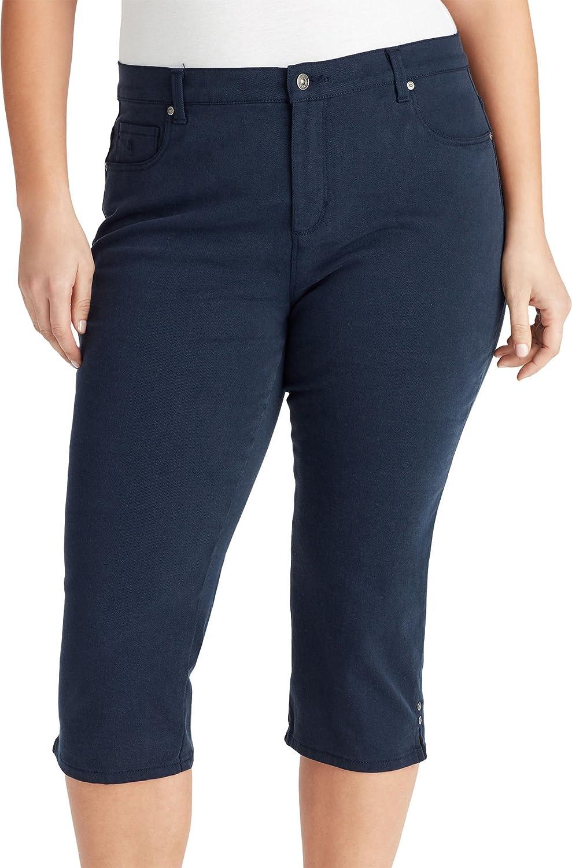 L.e.i. Women's Plus Size Amanda Capri Jeans