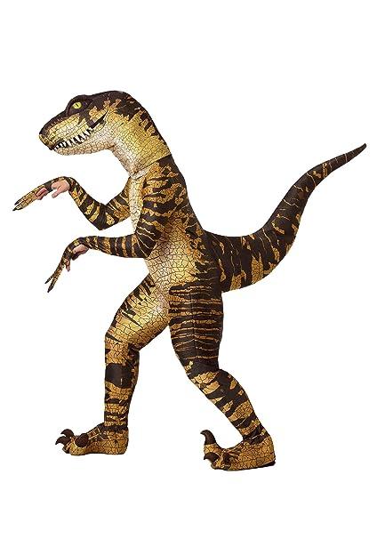 Amazon.com: Disfraz de Raptor para adulto: Clothing