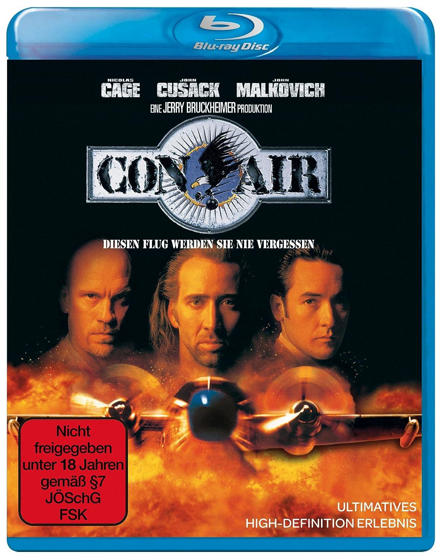 Amazon Com Con Air Blu Ray 1997 Region A B C Movies Tv