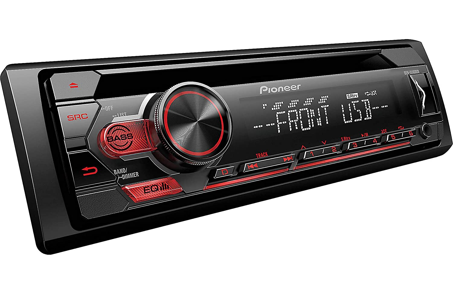 Pioneer Single Din In Dash Cd R Rw Mp3 Wma Wav Am Fm 1999 Tacoma Fuse Diagram Front Usb Auxiliary Input Mixtrax And Arc Support Car Stereo Receiver Detachable Face