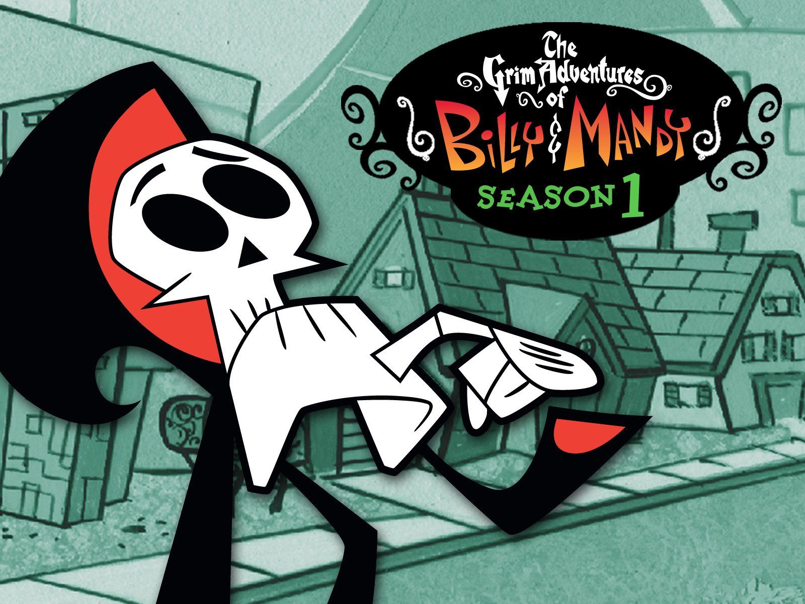 Amazon Com Watch The Grim Adventures Of Billy Mandy Season 1