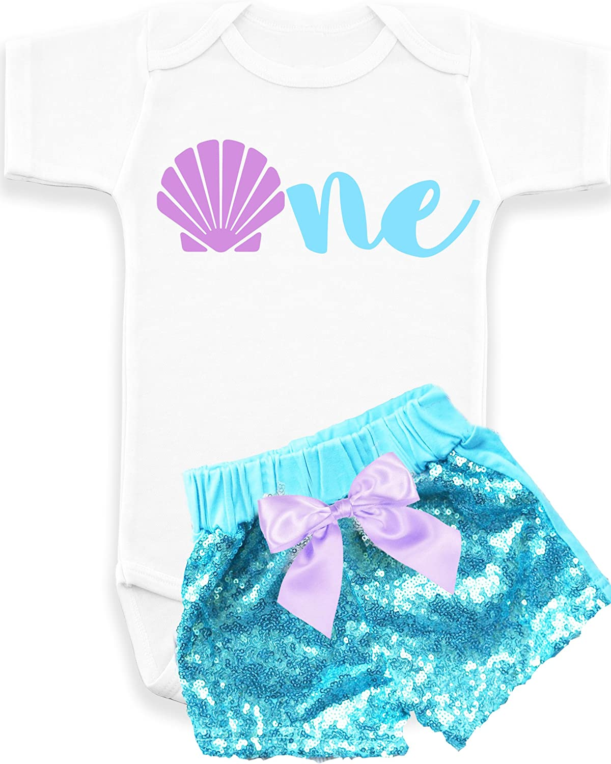 Mermaid 1st Birthday Mermaid Baby Girl First Birthday Outfit