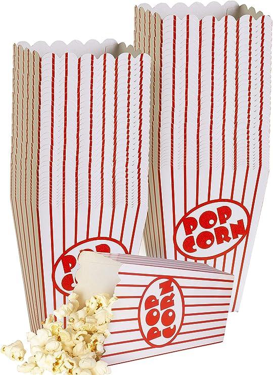Cine pequeñas cajas de palomitas de maíz – Papel cajas de ...