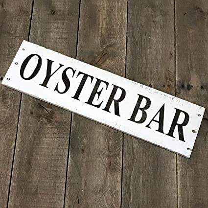 Amazon.com: CELYCASY Oyster BAR, Beach House Sign Reclaimed ... on transitional home bars, built in home bars, sports home bars, wood boat bars, gothic home bars, beautiful home bars, gold home bars, boat stern bars, pinterest home bars, beach home bars, home boat bars, industrial home bars, old-style saloon bars, black home bars, home decorating ideas bars, country home bars, coastal home bars, golf home bars, antique home bars, red home bars,