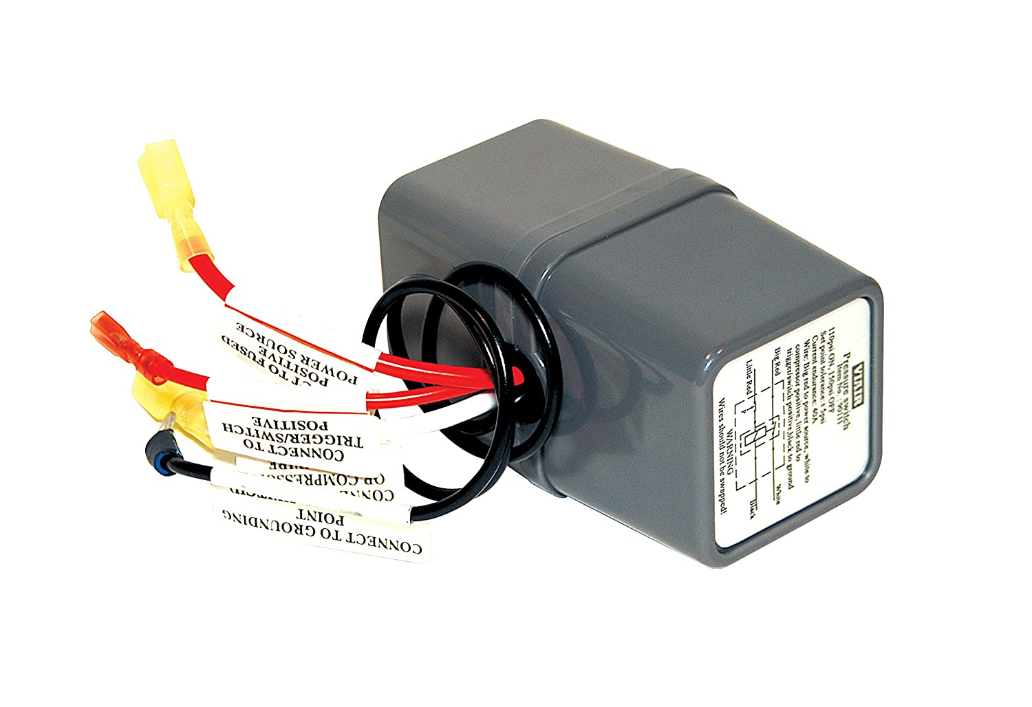 81ytVfoXmhL._SL1500_ amazon com viair 90111 pressure switch with relay automotive viair pressure switch wiring diagram at aneh.co