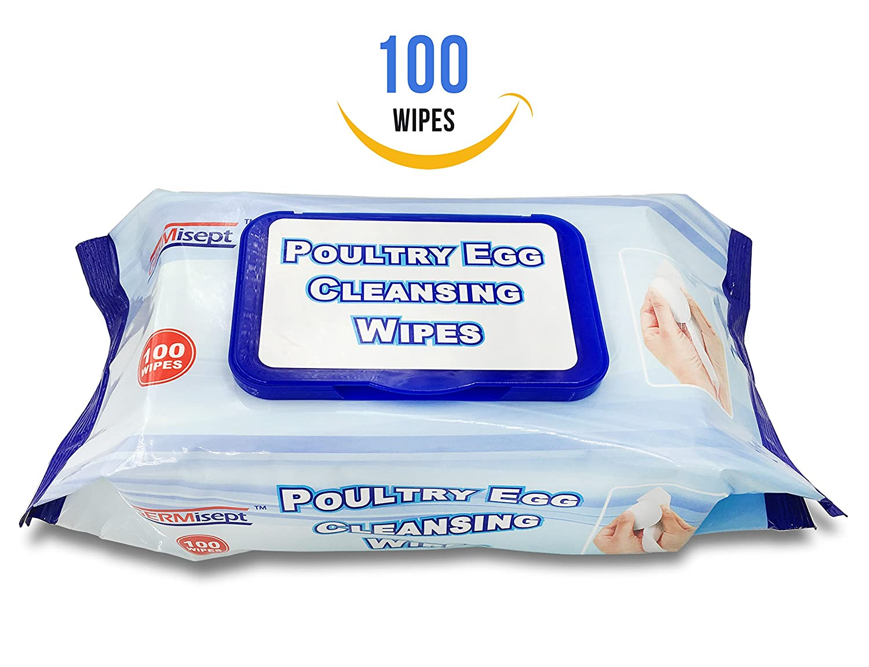 germisept aves huevo 4 paquetes de 100 toallitas de limpieza toallitas=400 toallitas: Amazon.es: Hogar