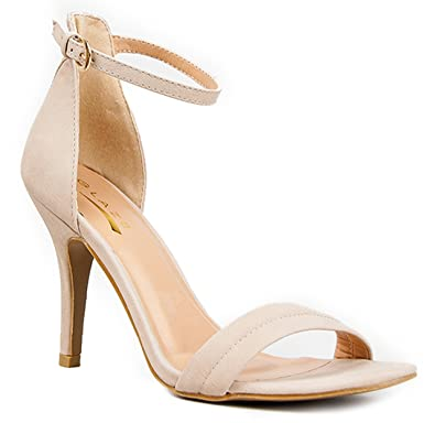 Womens Ankle Strap High Heel